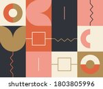 new retro aesthetics in... | Shutterstock .eps vector #1803805996