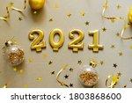 happy new years 2021. christmas ...   Shutterstock . vector #1803868600