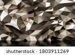 metal wall background 3d render | Shutterstock . vector #1803911269