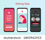 dating app design  interface....
