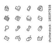 computer element vector icon... | Shutterstock .eps vector #180397838
