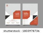 corporate business flyer poster ... | Shutterstock .eps vector #1803978736