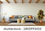 Beautiful Interior Of Living...