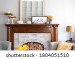 Stylish Fall Home Decor In Gray ...