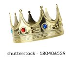 Kings crown cutout  isolated on ...