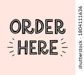 vector lettering illustration...   Shutterstock .eps vector #1804111636
