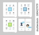infographics elements ... | Shutterstock .eps vector #180427979