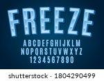 Decorative Freeze Font And...