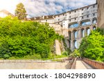 cloak bridge  czech  plastovy... | Shutterstock . vector #1804298890