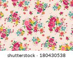 seamless vintage tropical... | Shutterstock .eps vector #180430538