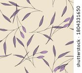 exotic violet pattern with... | Shutterstock .eps vector #1804331650