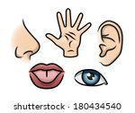 a cartoon illustration... | Shutterstock .eps vector #180434540