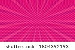 pink comic book page background ...   Shutterstock .eps vector #1804392193