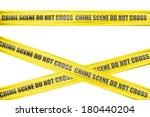 Crime Scene Yellow Cordon Tape...