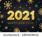 happy new year 2021 long banner....   Shutterstock .eps vector #1804428010