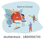 back to school during... | Shutterstock .eps vector #1804506733