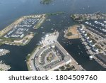 Aerial View Dutch Harbor...