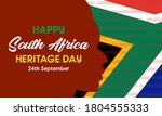 heritage day in south africa....   Shutterstock .eps vector #1804555333