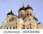 the alexander nevsky cathedral...