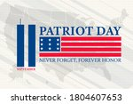 patriot day in the united... | Shutterstock .eps vector #1804607653