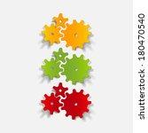 realistic design element ...   Shutterstock .eps vector #180470540