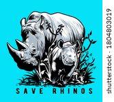 Save Rhinos Wildlife...