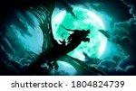 The Silhouette Of A Dead Dragon ...