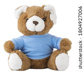Baby Bear Stuffed Toy Isolated...