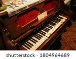 Old Vintage Harmonium Piano...