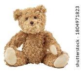 Baby Plush Toy Bear Isolated O...