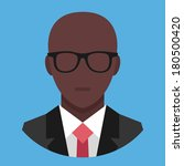 vector black man in business...