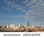 View Of Chicago Skyline On A...