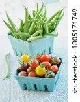 Farm Fresh Organic Green Beans...