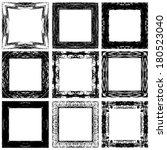 set grunge abstract frames....   Shutterstock .eps vector #180523040