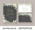 beautiful wedding invitation... | Shutterstock .eps vector #1805289106