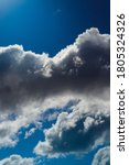 cumulus clouds in front of the... | Shutterstock . vector #1805324326