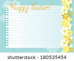 easter background. many spring...   Shutterstock .eps vector #180535454