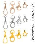 carbines metallic gold  copper... | Shutterstock .eps vector #1805356126