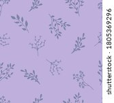 a drawing of a pattern of... | Shutterstock .eps vector #1805369296