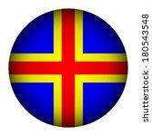 aland island flag button on a... | Shutterstock .eps vector #180543548