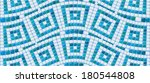 seamless mosaic pattern   blue... | Shutterstock .eps vector #180544808