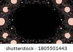 a mystical heavenly black... | Shutterstock .eps vector #1805501443
