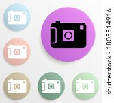 camera badge color set. simple...