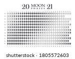 2021 Moon Phases Calendar On...