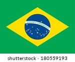 flat design green soccer field  ... | Shutterstock .eps vector #180559193