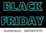 neon blue volumetric...   Shutterstock .eps vector #1805607670