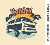 vector illustration   print for ... | Shutterstock .eps vector #1805613826