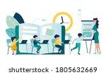 vector illustration with... | Shutterstock .eps vector #1805632669
