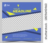 square banner template business.... | Shutterstock .eps vector #1805640460