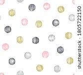 Colorful Dots Seamless Pattern...
